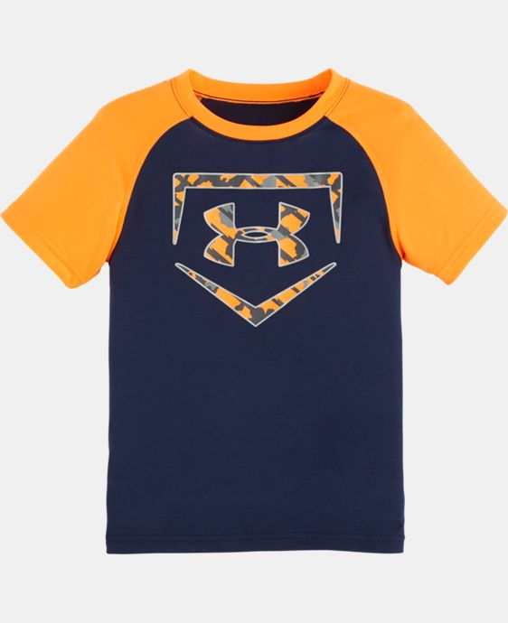 Boys' Pre-School UA Home Base T-Shirt LIMITED TIME: FREE SHIPPING  $13.99