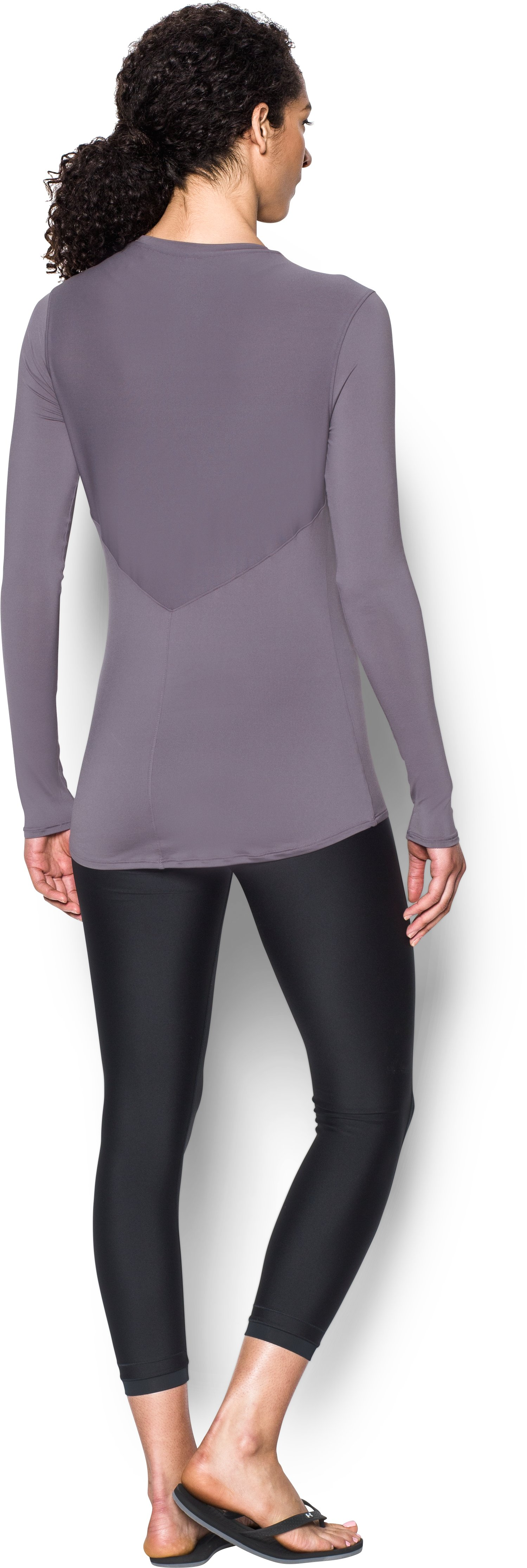Women's UA 50 Long Sleeve, FLINT, Back