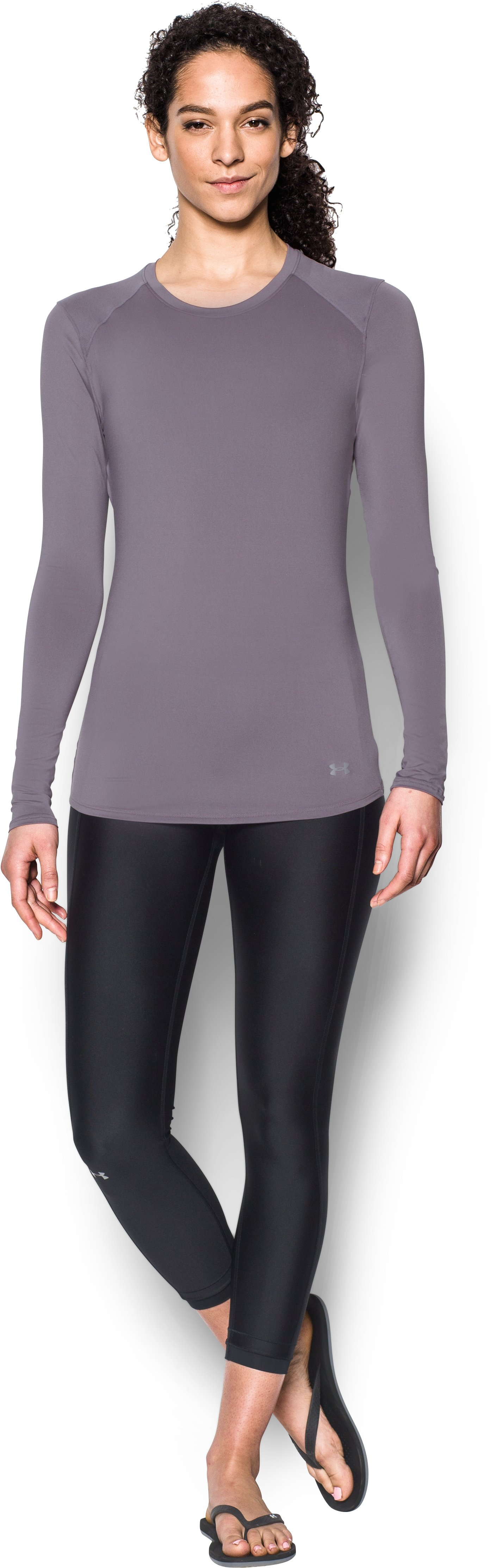 Women's UA 50 Long Sleeve, FLINT, Front