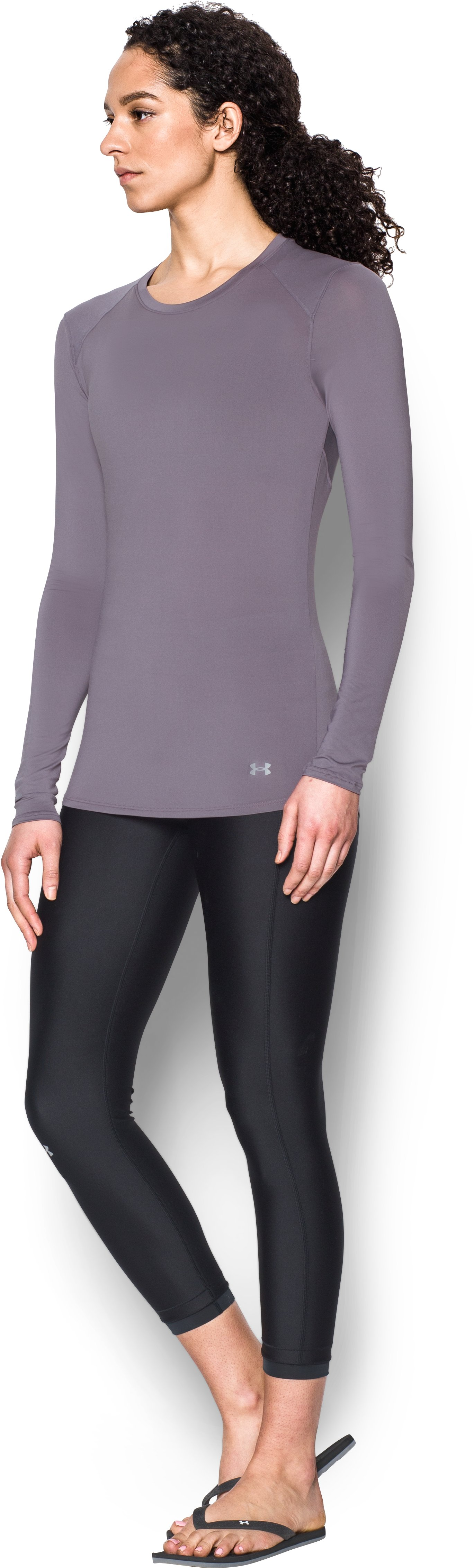 Women's UA 50 Long Sleeve, FLINT, undefined