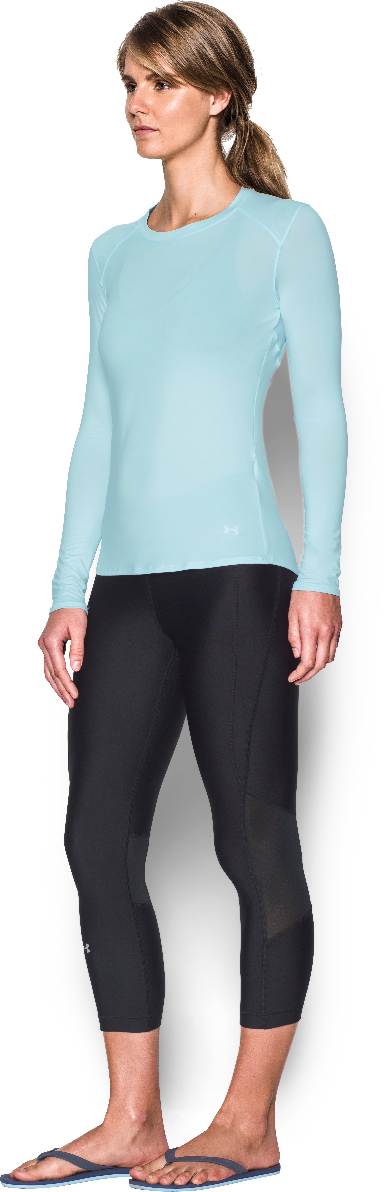 Women's UA 50 Long Sleeve, SKYLIGHT,