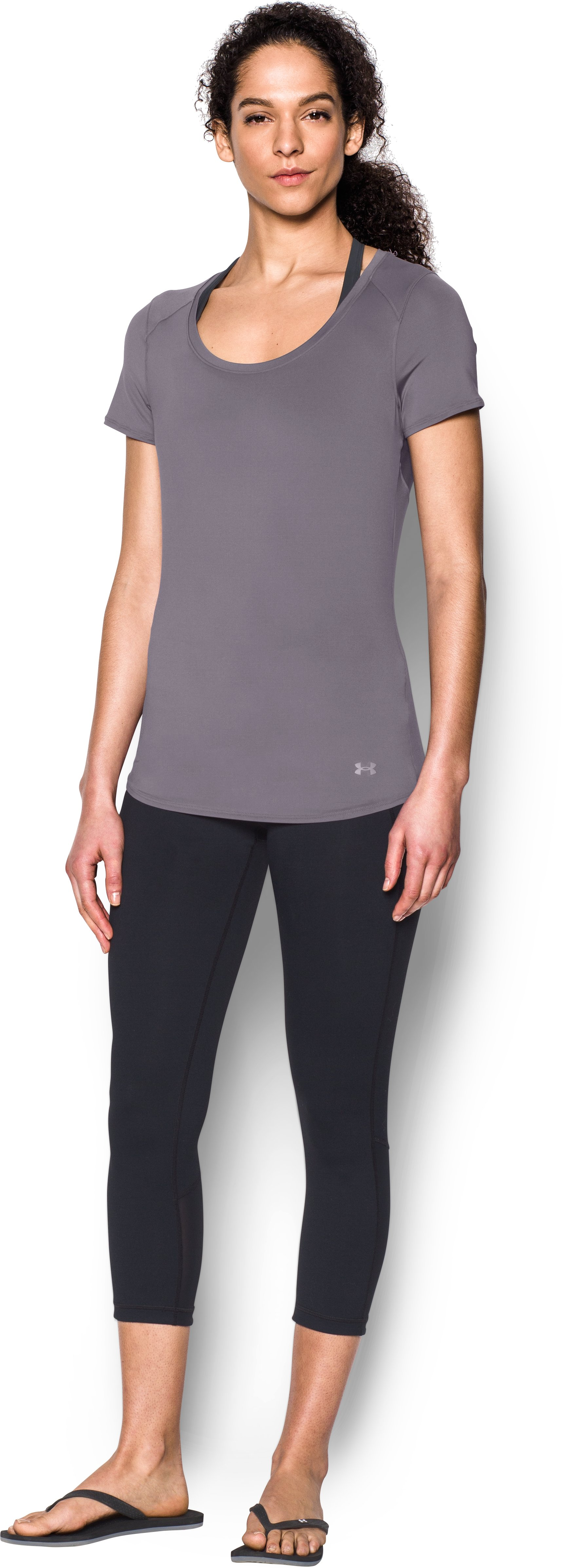 Women's UA 50 Short Sleeve, FLINT