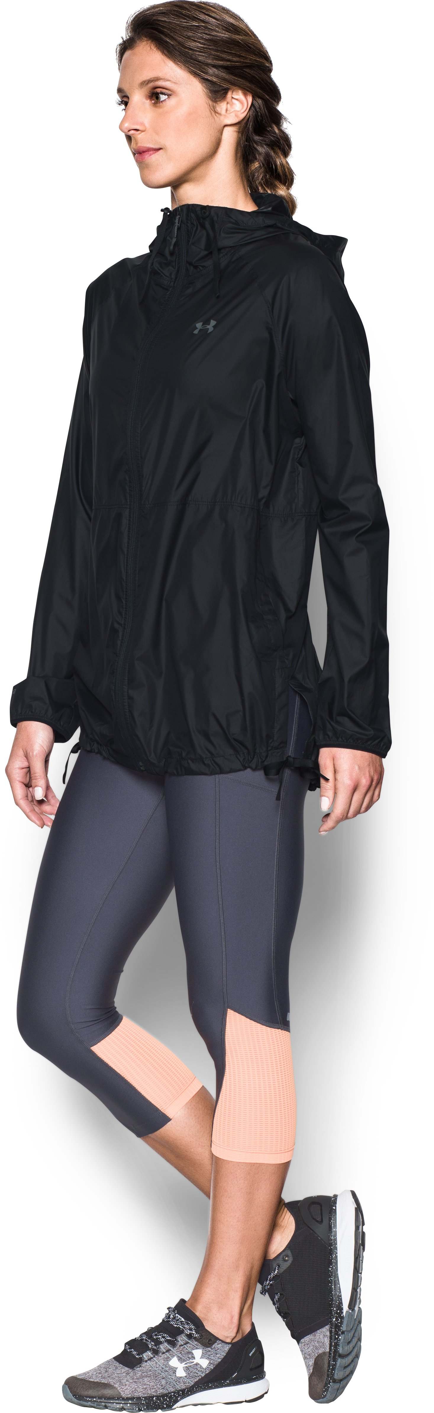 Women's UA Do Anything Jacket, Black ,