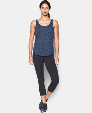 New Arrival Women's UA Burnout Tank  1 Color $34.99