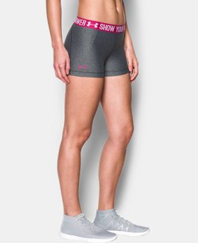 Women's UA Power In Pink® HeatGear® Armour Shorty  1 Color $29.99