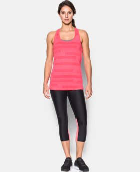 Women's UA Threadborne Siro Jacquard Tank  1 Color $39.99
