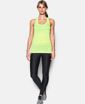 New Arrival  Women's UA Threadborne Train Jacquard Tank  3 Colors $39.99