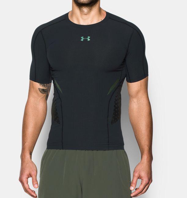 f7382f453a Men's HeatGear® Armour Zone Compression Short Sleeve