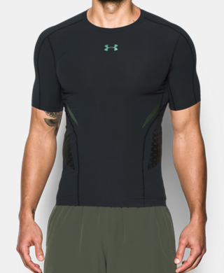 Men's HeatGear® Armour Zonal Compression Short Sleeve