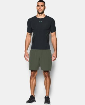 New Arrival Men's HeatGear® Armour Zone Compression Short Sleeve  2 Colors $59.99
