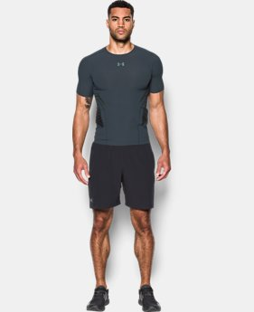 Men's HeatGear® Armour Zone Compression Short Sleeve  2 Colors $74.99