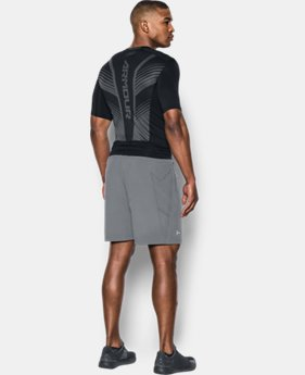 Men's HeatGear® SuperVent Armour Short Sleeve Compression T-Shirt   $49.99