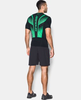 Men's HeatGear® SuperVent Armour Short Sleeve Compression T-Shirt  2 Colors $31.99 to $33.99