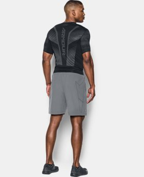Men's HeatGear® SuperVent Armour Short Sleeve Compression T-Shirt   $31.99 to $33.99