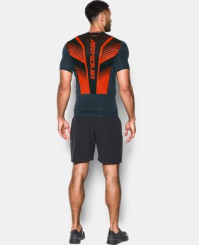 Men's HeatGear® SuperVent Armour Short Sleeve Compression T-Shirt  1 Color $31.99 to $33.99