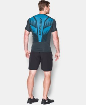 Men's HeatGear® SuperVent Armour Short Sleeve Compression T-Shirt  3 Colors $26.99 to $33.99