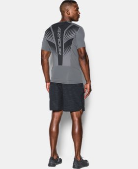 Men's HeatGear® SuperVent Armour Short Sleeve Compression T-Shirt  3 Colors $29.99 to $37.99