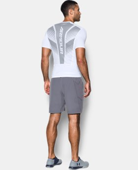 New to Outlet Men's HeatGear® SuperVent Armour Short Sleeve Compression T-Shirt  2 Colors $31.99 to $33.99