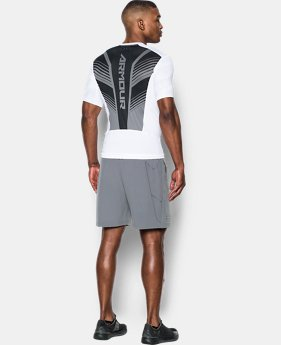 Men's HeatGear® SuperVent Armour Short Sleeve Compression T-Shirt  2 Colors $26.99 to $31.99