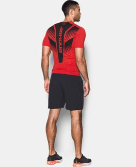 Men's HeatGear® SuperVent Armour Short Sleeve Compression T-Shirt  1 Color $25.49