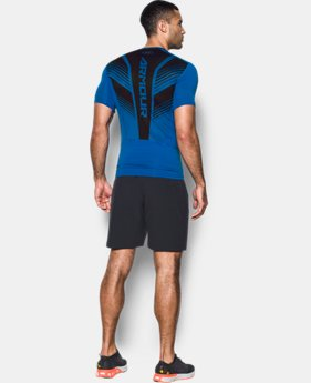 Men's HeatGear® SuperVent Armour Short Sleeve Compression T-Shirt  1 Color $26.99 to $31.99
