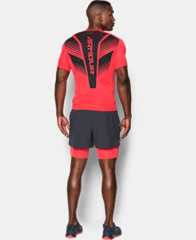 Men's HeatGear® SuperVent Armour Short Sleeve Compression T-Shirt  1 Color $33.74 to $44.99