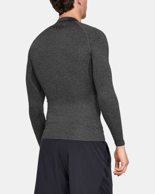 Men's HeatGear® Armour Compression Long Sleeve Mock