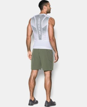 New to Outlet Men's HeatGear® SuperVent Armour Compression Tank  1 Color $33.74