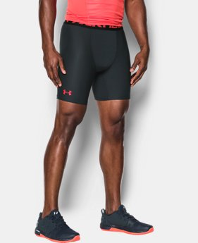 Men's HeatGear® Armour Mid Compression Shorts  1 Color $16.79 to $19.79