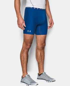 Men's HeatGear® Armour Mid Compression Shorts  1  Color Available $20.99