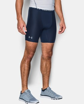 Men's HeatGear® Armour Mid Compression Shorts  1 Color $27.99