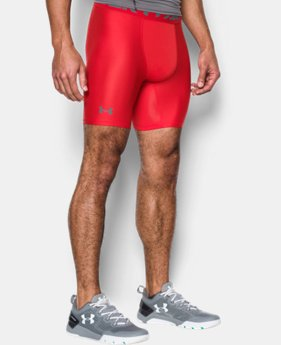 Men's HeatGear® Armour Mid Compression Shorts  1 Color $24.74