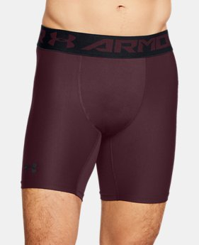 Men's HeatGear® Armour Mid Compression Shorts  8  Colors Available $27.99