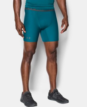 Men's HeatGear® Armour Mid Compression Shorts  2 Colors $16.79 to $19.99