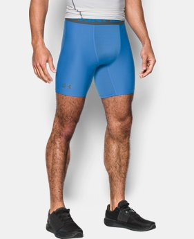 Best Seller Men's HeatGear® Armour Mid Compression Shorts  3 Colors $27.99