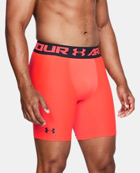 Men's HeatGear® Armour Mid Compression Shorts  2  Colors Available $27.99