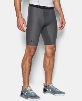 Best Seller Men's HeatGear® Armour Long Compression Shorts LIMITED TIME: FREE U.S. SHIPPING 1 Color $29.99