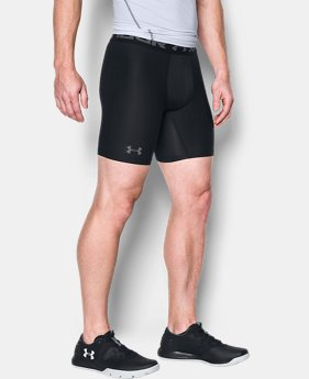 Men's HeatGear® Armour Mid Compression Shorts  1 Color $23.99