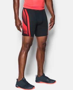 Men's HeatGear® SuperVent Armour Compression Shorts  3 Colors $44.99