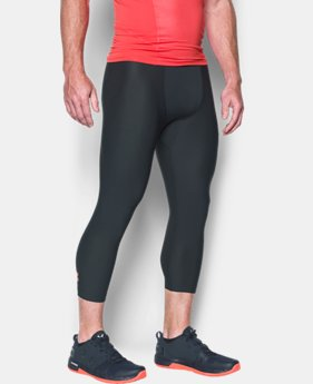 Men's HeatGear® Armour Compression ¾ Leggings  1 Color $18.99 to $23.99
