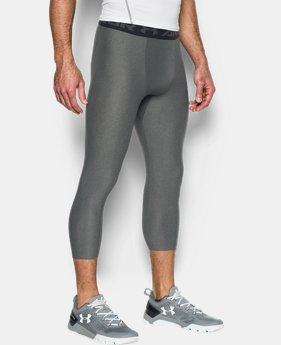 Best Seller Men's HeatGear® Armour Compression ¾ Leggings LIMITED TIME: FREE U.S. SHIPPING 1 Color $31.99