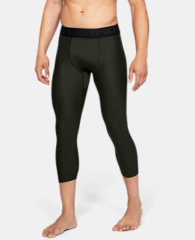 Men's HeatGear® Armour Compression ¾ Leggings  5  Colors Available $31.99