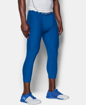 Men's HeatGear® Armour Compression ¾ Leggings  3 Colors $23.99