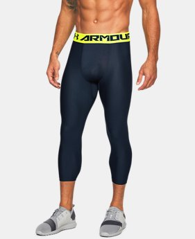 Men's HeatGear® Armour Compression ¾ Leggings  6 Colors $31.99