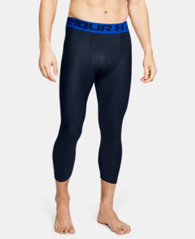 Men's HeatGear® Armour Compression ¾ Leggings  6  Colors Available $31.99