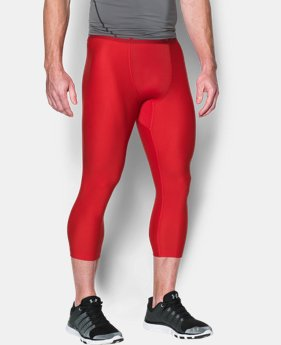 Men's HeatGear® Armour Compression ¾ Leggings  1 Color $23.99