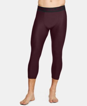 Men's HeatGear® Armour Compression ¾ Leggings  1  Color Available $31.99