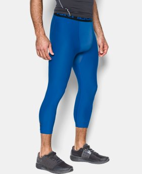 Men's HeatGear® Armour Compression ¾ Leggings  1 Color $17.99