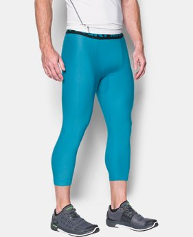 Men's HeatGear® Armour Compression ¾ Leggings  2 Colors $18.99 to $23.99