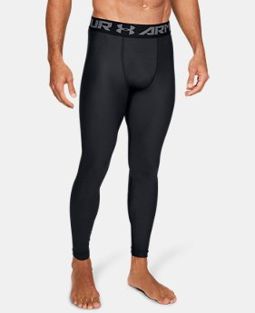 Men's HeatGear® Armour Compression Leggings  4  Colors Available $39.99